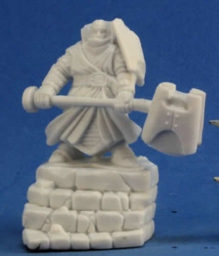 Reaper Bones Dark Heaven Male Thunderknight Miniature - Pastime Sports & Games