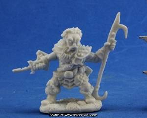 Reaper Bones Dark Heaven Derro Leader Miniature - Pastime Sports & Games