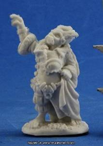 Reaper Bones Dark Heaven Derro Mage Miniature - Pastime Sports & Games