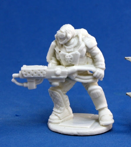 Reaper Bones Chronoscope IMEF: Torch McHugh Miniature - Pastime Sports & Games