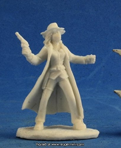 Reaper Bones Savage Worlds Texas Ranger Female Miniature - Pastime Sports & Games