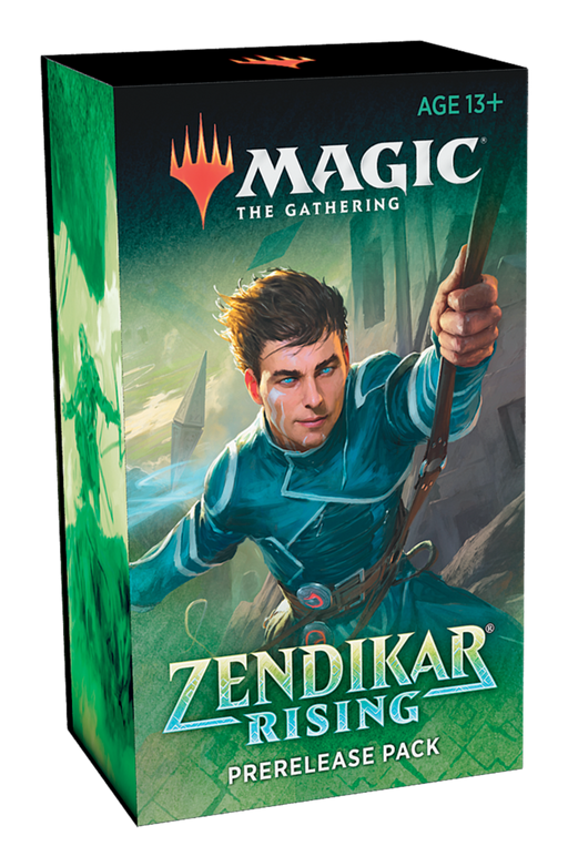 Magic The Gathering Zendikar Rising Prerelease Pack - Pastime Sports & Games