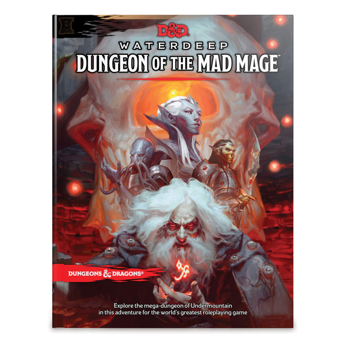 Dungeons & Dragons Waterdeep Dungeon Of The Mad Mage - Pastime Sports & Games