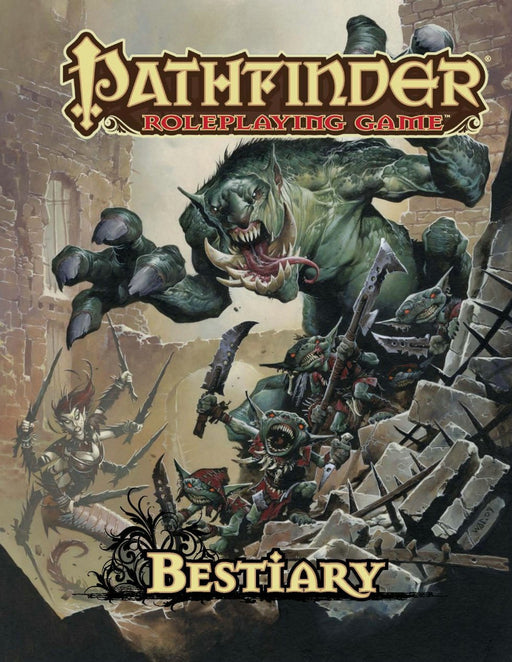 Pathfinder Roleplaying Game Bestiary - Pastime Sports & Games