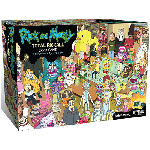 Rick And Morty Total Rickall - Pastime Sports & Games