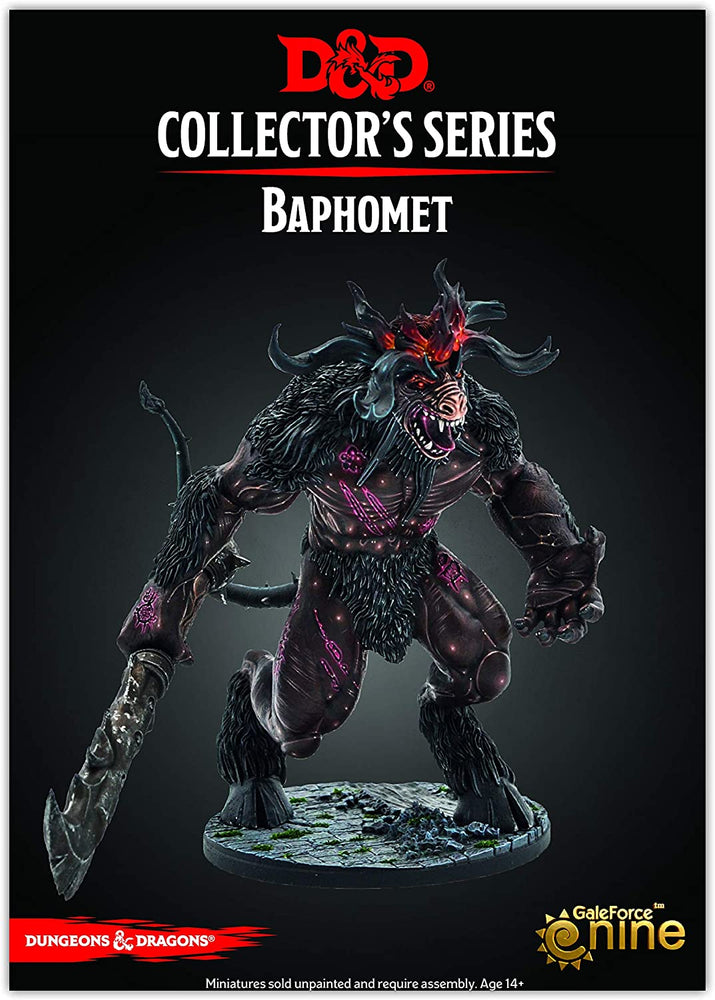 D&D Collector Series Miniatures Baphomet - Pastime Sports & Games