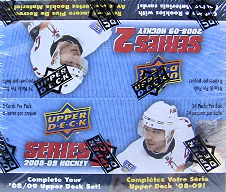 2008/09 Upper Deck Series Two Hockey Retail - Pastime Sports & Games