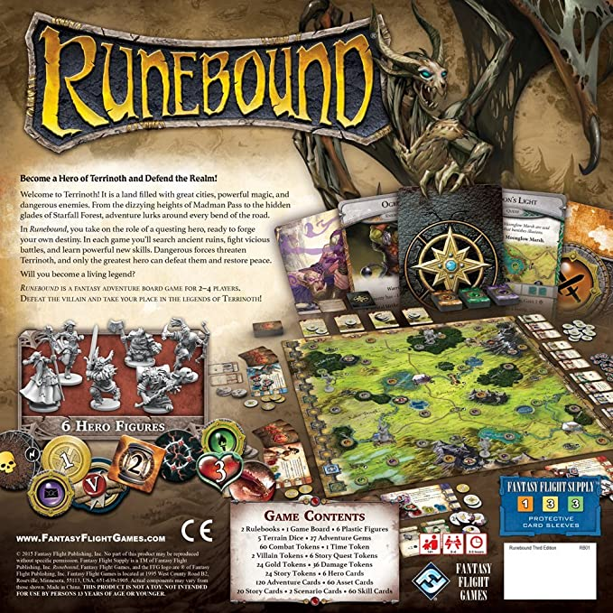 Runebound - Pastime Sports & Games