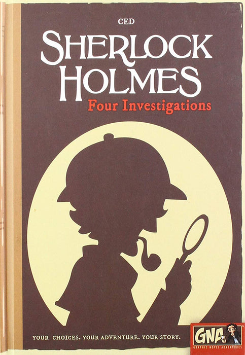 Sherlock Holmes Four Investigations: Graphic Novel Adventure - Pastime Sports & Games