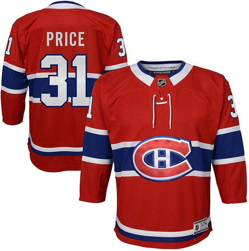 Carey Price Montreal Canadiens Hockey Home Youth Jersey (Outerstuff Red)