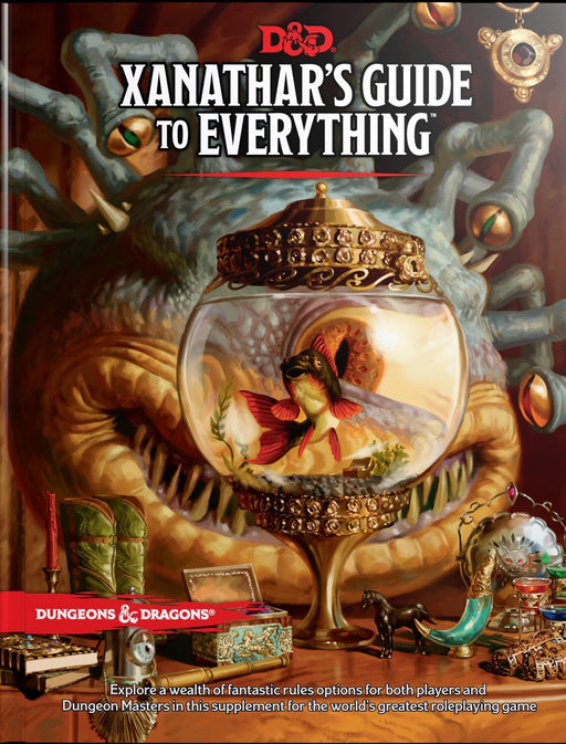 Dungeons & Dragons Xanathar's Guide To Everything - Pastime Sports & Games