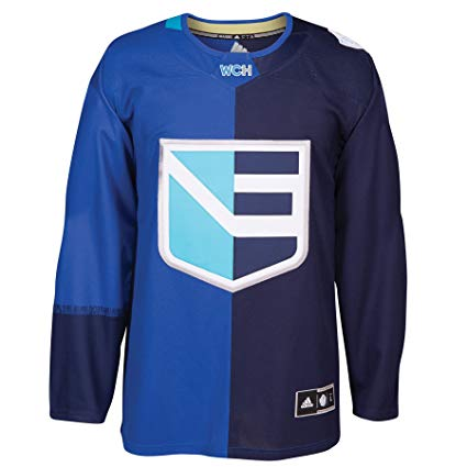 2016 World Cup Of Hockey Team Europe Adidas Home Blue Jersey - Pastime Sports & Games