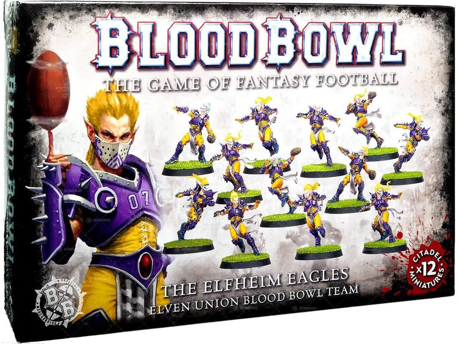 The Elfheim Eagles Elven Union Blood Bowl Team (200-36) - Pastime Sports & Games