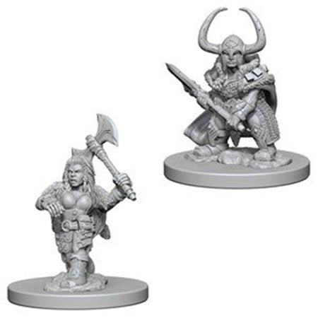 Dungeons & Dragons Nolzur's Marvelous Miniatures Dwarf Barbarian - Pastime Sports & Games