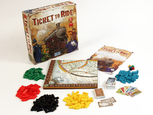 Ticket to Ride Main Game & Expansions (Sold Separately) - Pastime Sports & Games