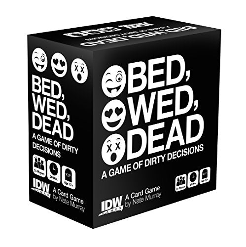 Bed, Wed, Dead A Game Of Dirty Decisions - Pastime Sports & Games