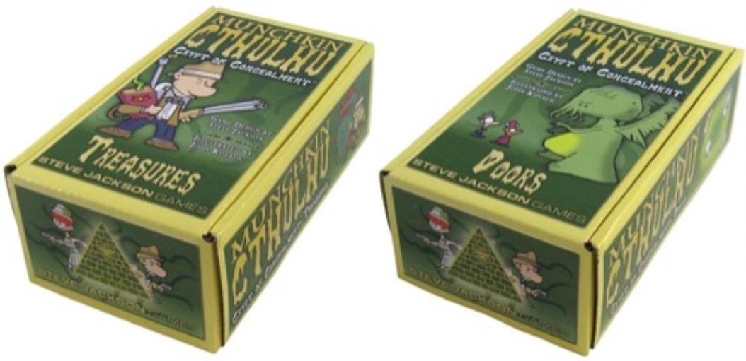 Munchkin Cthulhu Crypts Of Concealment - Pastime Sports & Games