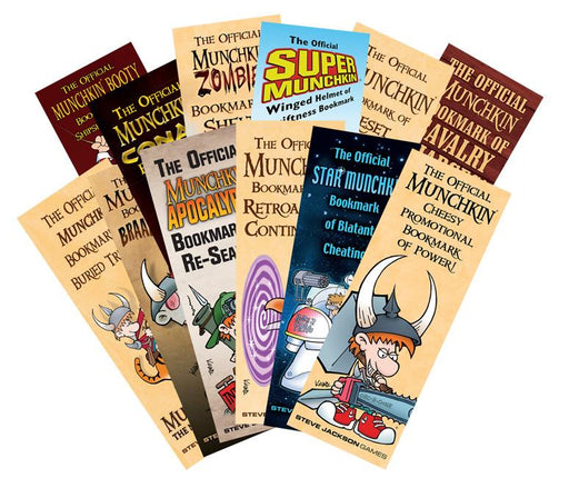Munchkin Bookmark Collection - Pastime Sports & Games