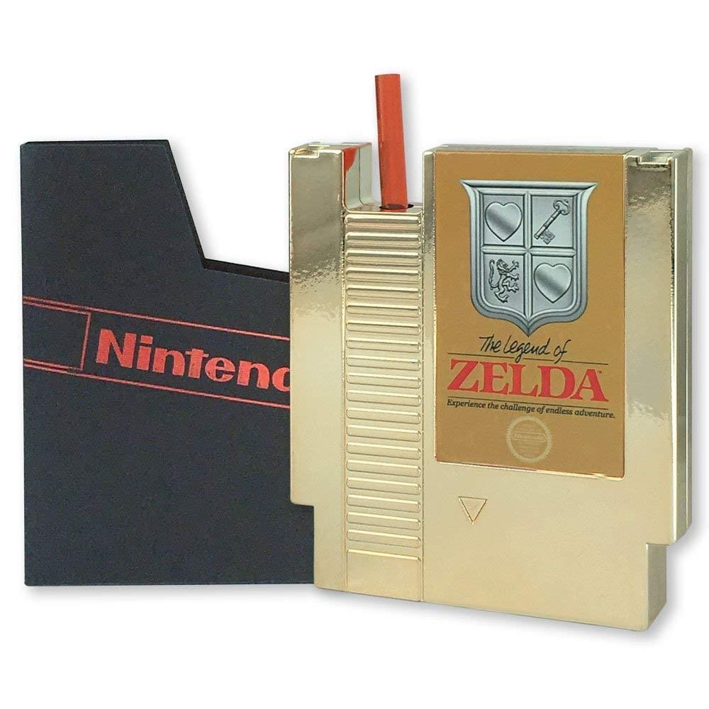 Legend of Zelda 5oz Gold Cartridge Canteen - Pastime Sports & Games