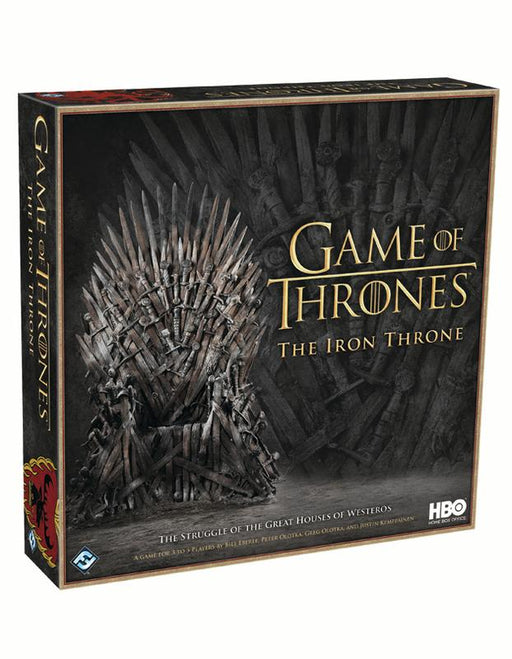 Game Of Thrones The Iron Throne - Pastime Sports & Games