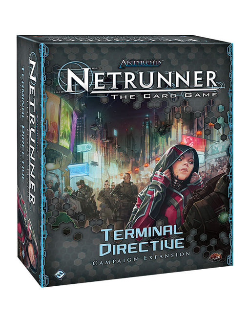 Netrunner The Card Game Terminal Directive Campaign Expansion - Pastime Sports & Games