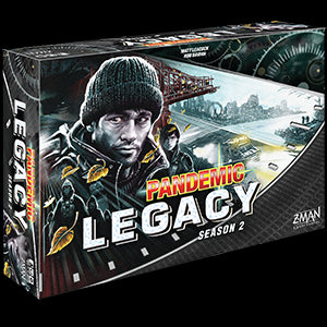 Pandemic Legacy Season 2 (Black Edition) - Pastime Sports & Games