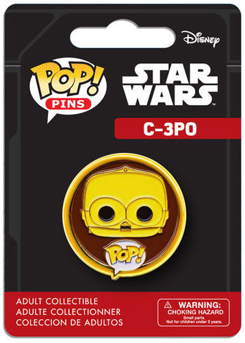 Funko Pop Pin Star Wars C-3PO - Pastime Sports & Games