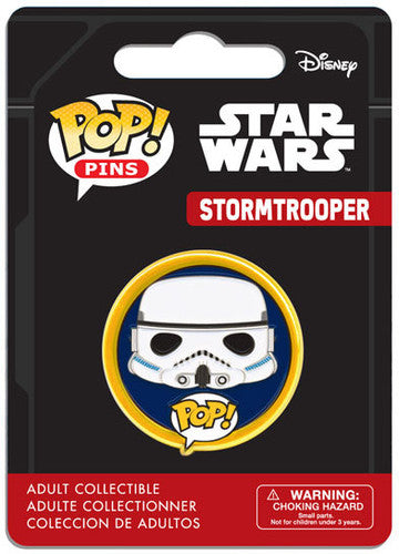 Funko Pop Pin Star Wars Stormtrooper - Pastime Sports & Games