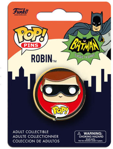Funko Pop Pin Batman 1966 Robin - Pastime Sports & Games