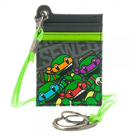 Wallet - Teenage Mutant Ninja Turtles - Parachord Card New mw1gp5tmt - Pastime Sports & Games