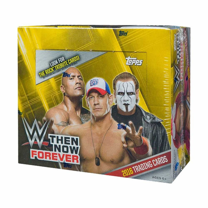 2016 Topps WWE Then Now Forever Retail - Pastime Sports & Games