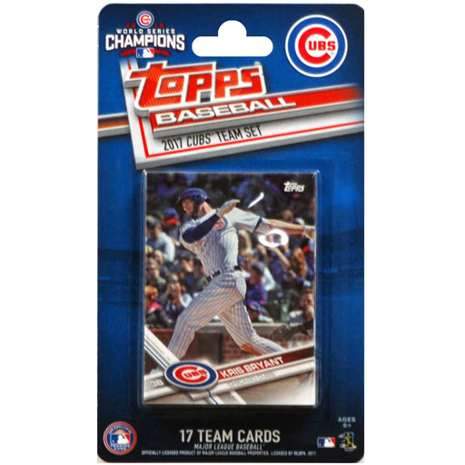 2017 Topps Chicago Cubs team Set - Pastime Sports & Games