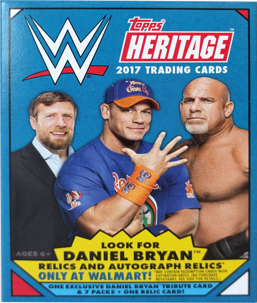 2017 Topps WWE Heritage Blaster Box - Pastime Sports & Games