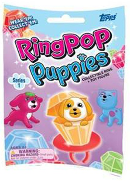Ring Pop Puppies Series 1 Mystery Pack - Pastime Sports & Games