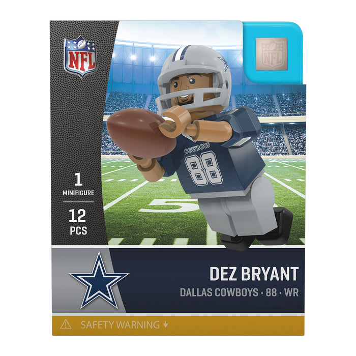 Dez Bryant Dallas Cowboys Official NFL Limited Edition Minifigure by Oyo 061160 - Pastime Sports & Games