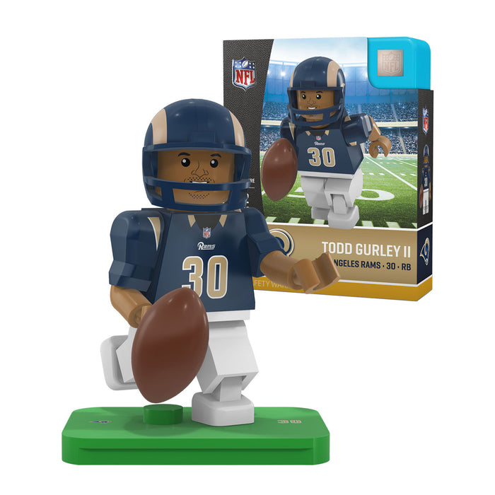 Todd Gurley Los Angeles Rams Official NFL Limited Edition Minifigure by Oyo 070414