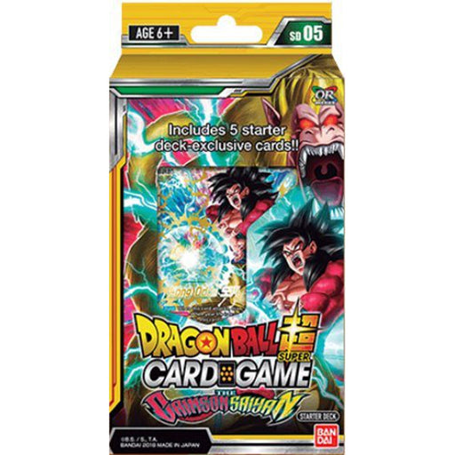 Dragon Ball Super The Crimson Saiyan Starter Deck - Pastime Sports & Games
