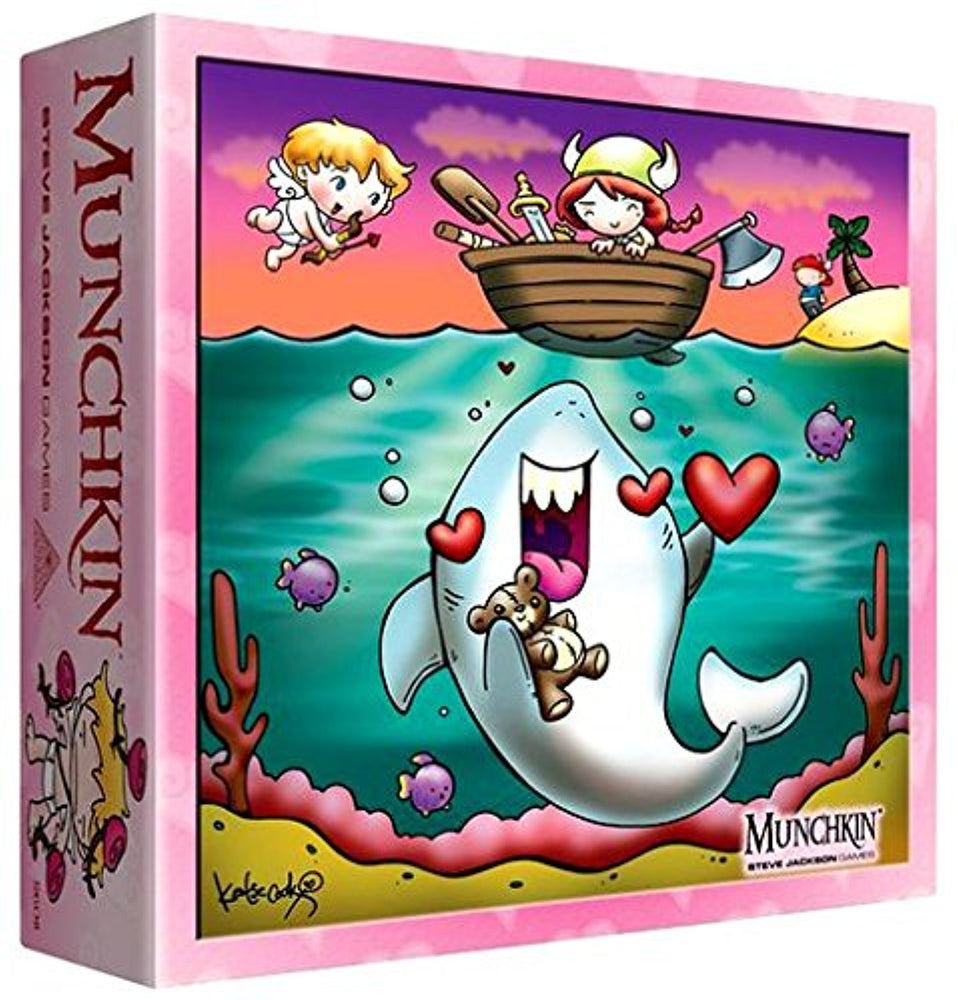 Munchkin Valentine's Day Monster Box - Pastime Sports & Games