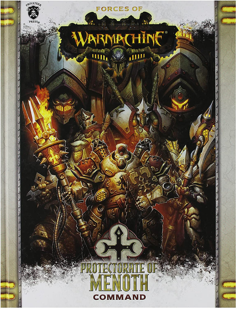 Forces of Warmachine Protectorate of Menoth Command - Pastime Sports & Games