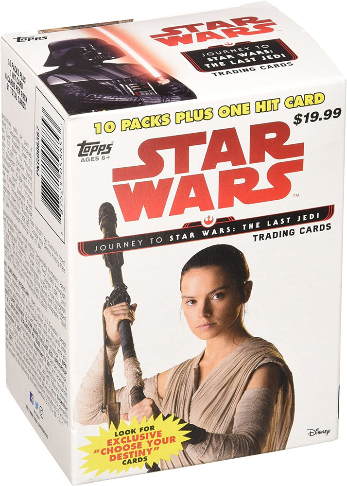Topps Star Wars Journey To Star Wars The Last Jedi Blaster Box - Pastime Sports & Games