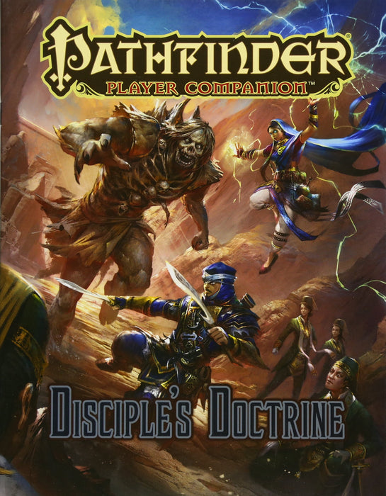 Pathfinder Player Companion Disciples Doctrine - Pastime Sports & Games