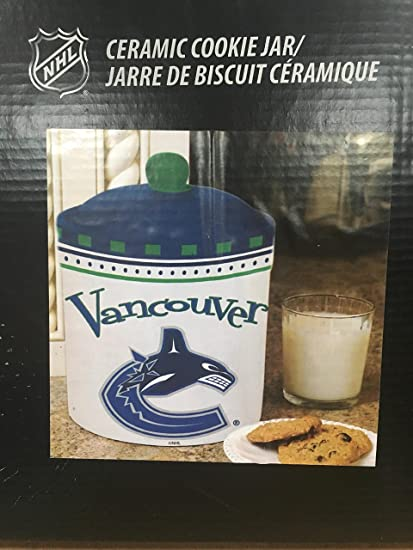 Vancouver Canucks Ceramic Cookie Jar