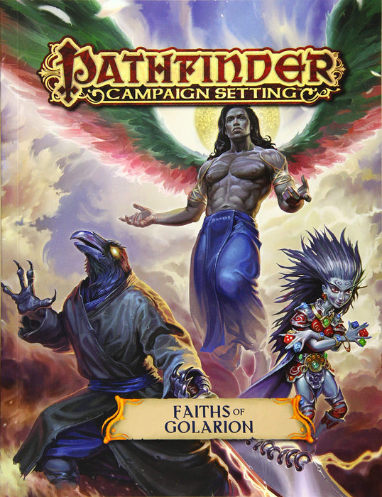 Pathfinder Campaign Setting Faiths Of Golarion - Pastime Sports & Games