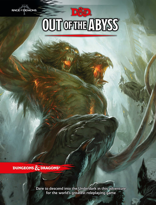 Dungeons & Dragons Out of the Abyss - Pastime Sports & Games