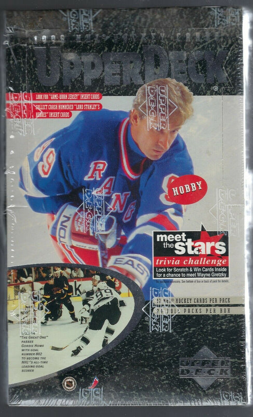 1996/97 Upper Deck Series One Hockey Retail Box - Pastime Sports & Games