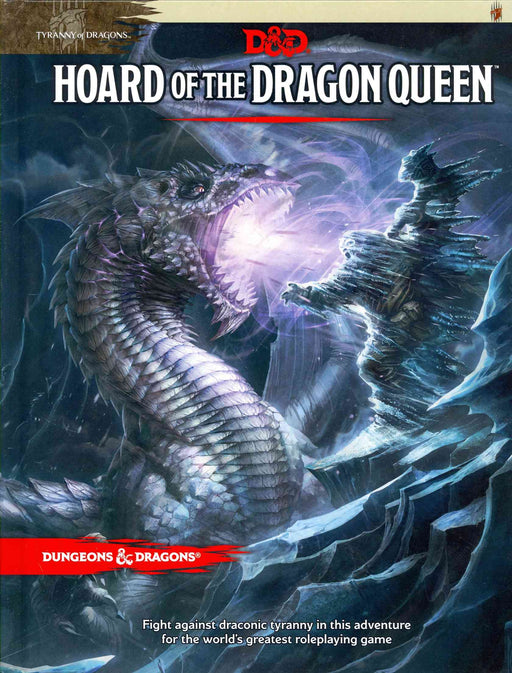 Dungeons & Dragons Tyranny Of Dragons Hoard Of The Dragon Queen - Pastime Sports & Games