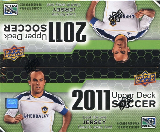 2011 Upper Deck Soccer Hobby - Pastime Sports & Games
