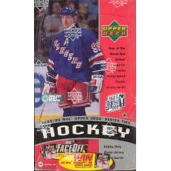 1998/99 Upper Deck Series Two Hockey Hobby Box - Pastime Sports & Games