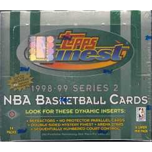 1998/99 Topps Finest Series Two Basketball Hobby