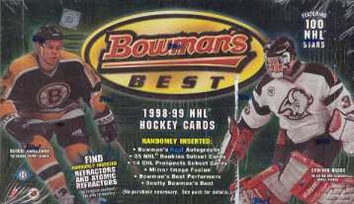 1998/99 Bowmens Best NHL Set - Pastime Sports & Games